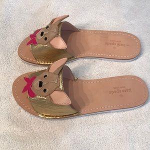 a426e6488add kate spade Shoes - Kate Spade Isadore chihuahua slide sandals 5.5